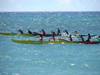 Kihei condo photo - Visitors can participate at many Maui Canoe Clubs