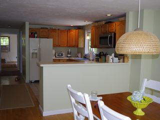 Mashpee house photo - Updated kitchen with all amenities for cooking and entertaining.