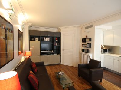 Stylish interior with a warm comfortable feel