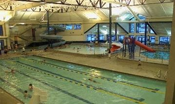 Silverthorne Recreation Center with indoor water slide