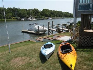 Falmouth house rental - Bring your own Kayak and head over to Washburn Island