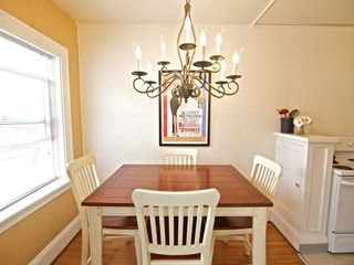 Portland apartment photo - Dining area with chandelier