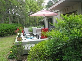 Palmetto Dunes villa photo - It's all about the peace, quiet and great climate.