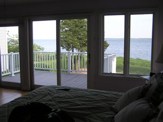 Aquebogue house photo - View from king bed in 2nd floor master suite