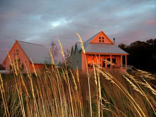 New Glarus house photo - The prairie behind the guest house.