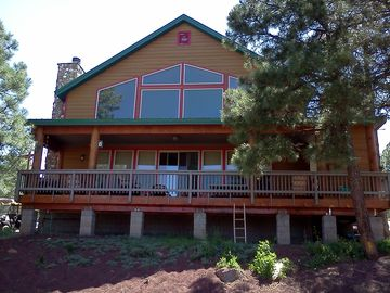 Mormon Lake cabin rental - Large two story cabin with plenty of room