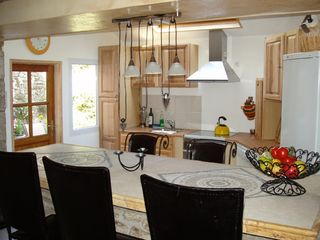 Pont-Aven cottage photo - Kitchen and dinning area