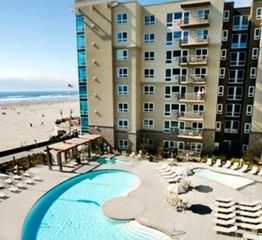 Seaside condo photo - View of Pool and Beach at The Resort at Seaside Oregon
