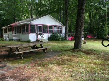 Sanbornton cottage rental - Lovely shaded yard