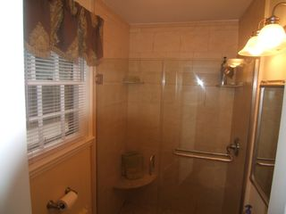 Wilmington house photo - Highly upgraded Main Floor Bath with walk-in Shower