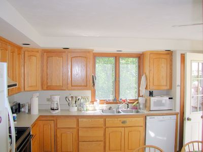 Eastham house rental - Completely Equipped Eat In Kitchen