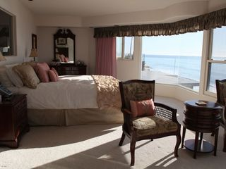 Solana Beach house photo - Oceanfront Master bedroom