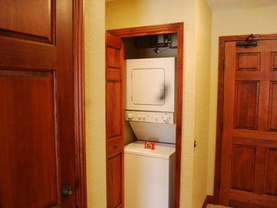 Washer and Dryer in Room