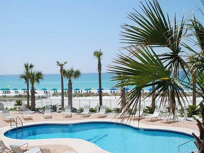1 Destin Towers 23 -  Pool and Beach Area