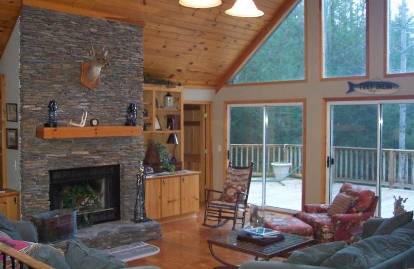 Lake Jocassee Cabin In Private Cove Vrbo