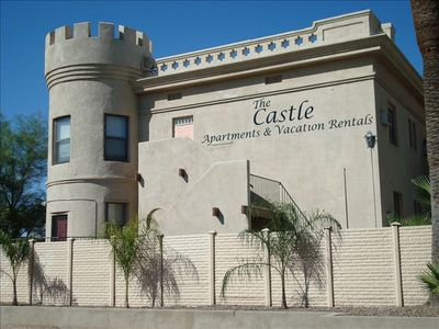 Built in 1906, the Castle is a unique apartment community in Central Tucson!