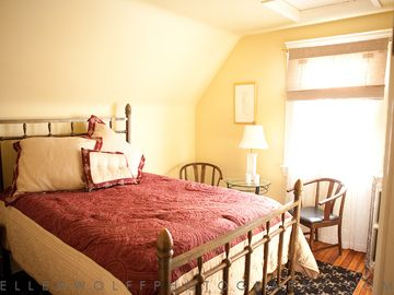 Golden Roost Bedroom; Full size bed