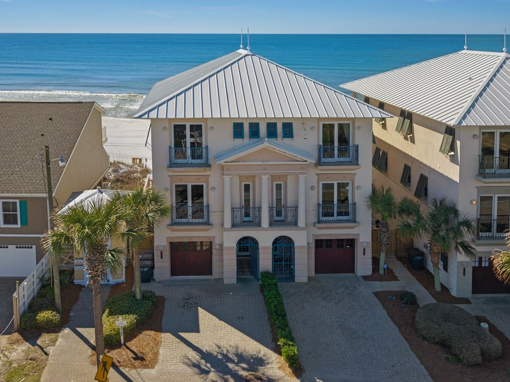Frangista sands destin florida private beach vrbo for 9 bedroom rental destin florida