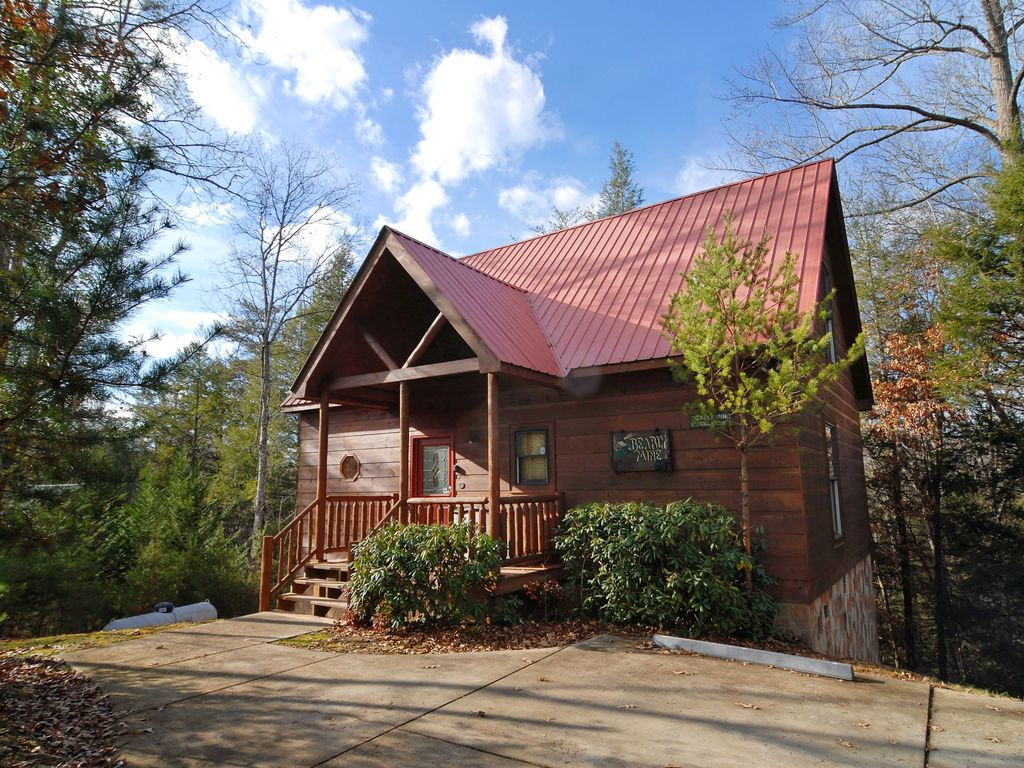 Smoky Mountain Cabin Bearly Mine 112 1 Br Vacation Cabin