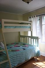 Union Pier cottage photo - Kids bedroom; Twin over full bunk bed