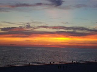 Redington Shores condo photo - Sunset from the Balcony!