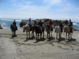Coos Bay house photo - Enjoy Horseback Riding on the Beach at Bandon