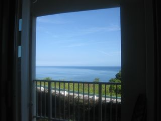 Aguadilla condo photo - Ocean View from the Balcony Door - Just Breathtaking!