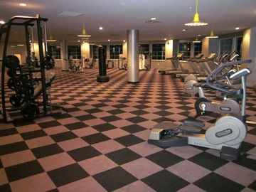 State of the Art Fitness Center Overlooking the Gulf as You Work Out