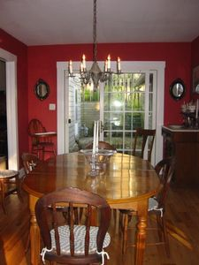 Culver house rental - Dining Room