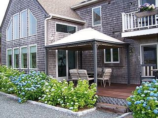 Truro house photo - Front Porch with Canopy Gazebo