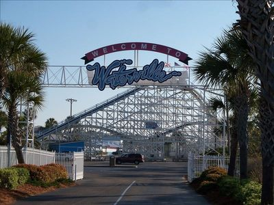 Waterville Water Park in Gulf Shores less than 1 mile from condo