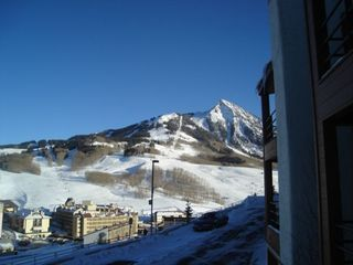 Crested Butte townhome photo - View from deck of Mt. Crested Butte