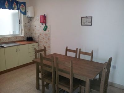 Bugibba apartment rental - Kitchen (3 bed. maisonette)