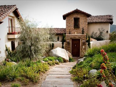 Rancho Santa Fe villa rental - Villa Entrance
