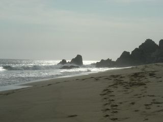 The Beach at the resort (Pueblo Bonito) adjacent to your property. - Cabo San Lucas villa vacation rental photo