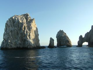 These amazing formations and composed for solid granite. - Cabo San Lucas villa vacation rental photo