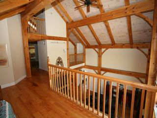 Tannersville house photo - Loft with Foosball Table and Sleeper Sofa