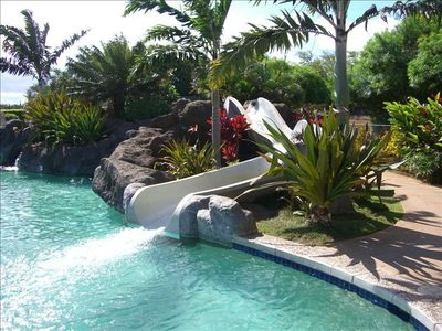 Kiahuna Swim & Tennis Club -- Pool and Waterslide
