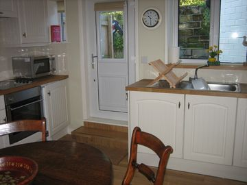 Kitchen in Sully Cottage