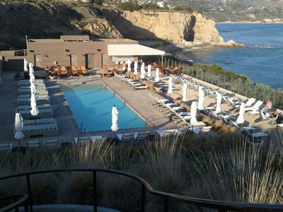 Enjoy Adult Pool Behind Casita Close By with Incredible Ocean and Beach Views