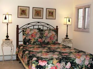 Queen bedroom on main level - Asheville chalet vacation rental photo