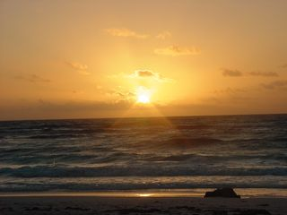 Tulum house photo - Majestic Sunrise over Caribbean