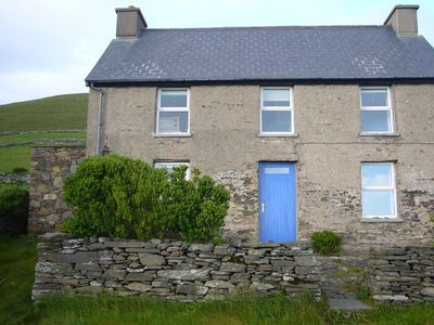 Dingle Peninsula house rental - 1900's stone house