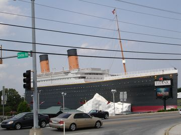 The Titanic Museum Is A Must & CloseBy On The Strip!