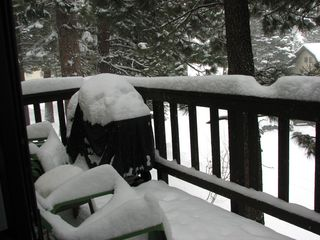 Mammoth Lakes condo photo - Full size gas BBQ