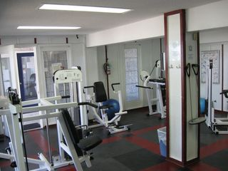 Harbor Island condo photo - Harbor Island Fitness Center offers a weight room and a bike/treadmill room.