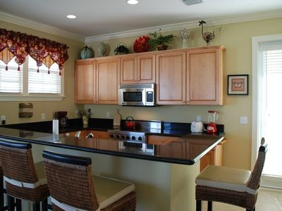 Gourmet Kitchen with Viking Appliances & granite