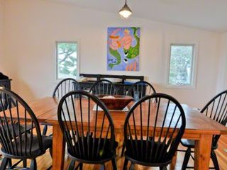 Oak Bluffs cottage photo - The Dining Area Comfortably Seats 8