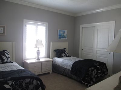 Your 3rd Bedroom with Twin Beds.