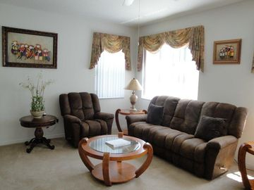 Family room, space to spread out and entertain.